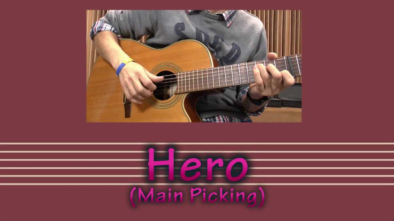 Hero Family Of The Year Guitar Lesson Youtube
