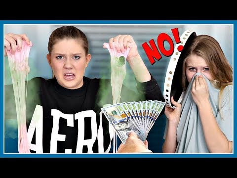 Last to Say No Wins $1000 | Slime Dares| Sis vs Sis | Taylor and Vanessa