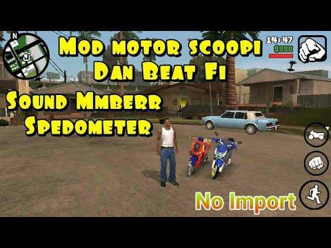 Mod Motor Scoopi Dan Beat FI + Sound Mmber No Import - Gta Sa Android