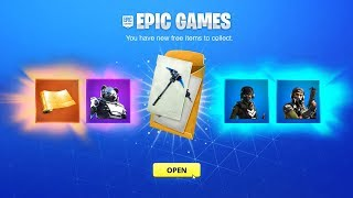 CLAIM THE NEW FREE REWARDS in Fortnite! *Free Items*