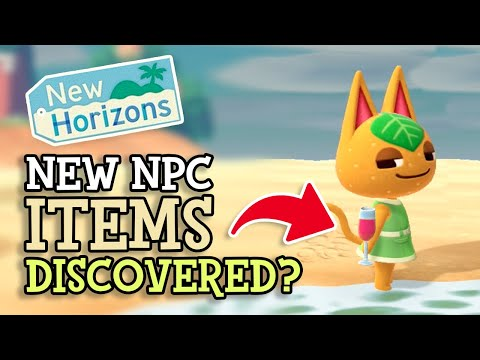 Animal Crossing New Horizons: NEW VILLAGER ITEMS DISCOVERED (April Update Data-Mine Details)