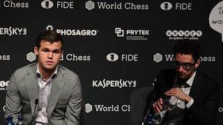 Magnus Carlsen vence duelo épico frente a Fabiano Caruana
