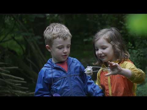 Forest School can develop early learning skills