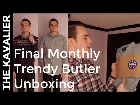 My Last Trendy Butler Delivery | December 2016 Unboxing