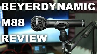 Beyerdynamic M88 TG Dynamic Mic Review / Test