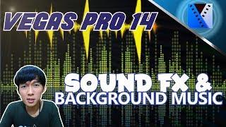 VEGAS PRO 14 - Cara Menambah Sound Efek (FX) dan Musik 🎼