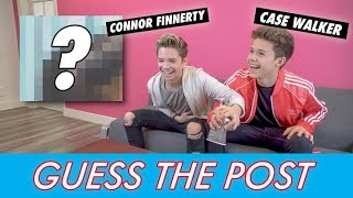 Connor Finnerty vs. Case Walker - Guess The Post