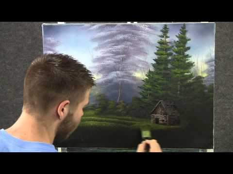 Paint with Kevin Hill - Cabin near the Lake wet on wet HD