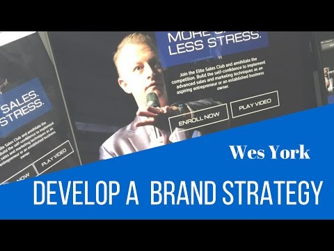Develop A Brand Strategy