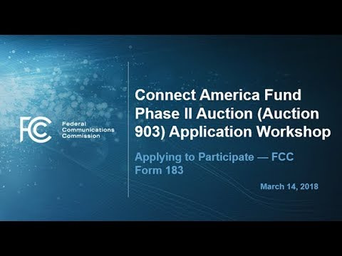 CAF II Application Process Workshop