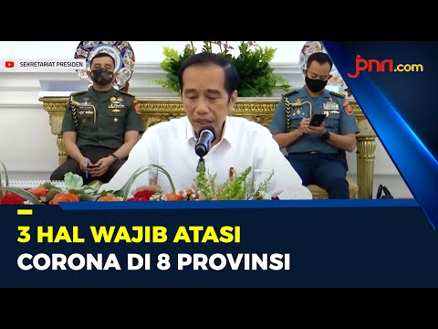 Jokowi Terapkan 3T di 8 Provinsi Untuk Penanganan Corona