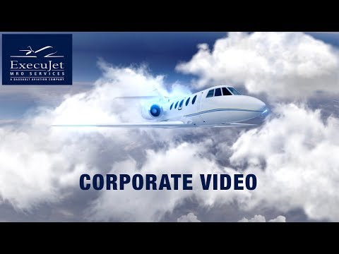 ExecuJet MRO Services Corporate Video (Short Version)