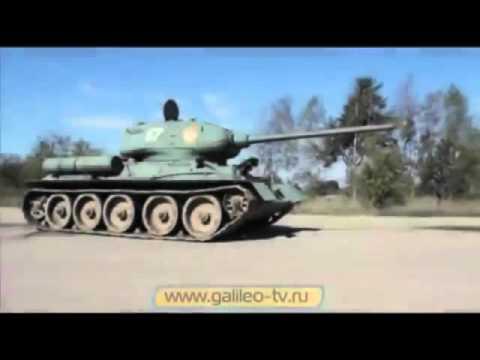 т 90 и т 34-85 сравнение двух танков