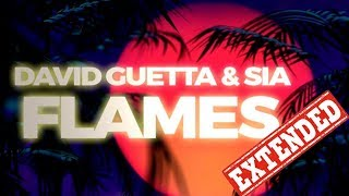 David Guetta ft. Sia - Flames (Extended Version) Video