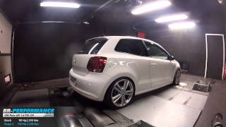 Reprogrammation Moteur VW Polo 6R 1.6 TDI CR 90hp @ 150hp (Stage 2) par BR-Performance