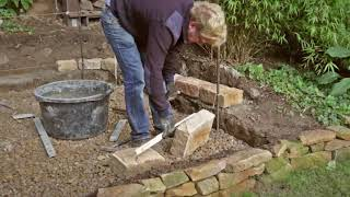 Jak na to - Vyzdívání přírodním kamenem