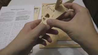 Asmr / Relaxing Puzzle Wooden Helicopter. Part 1 (no Talking)