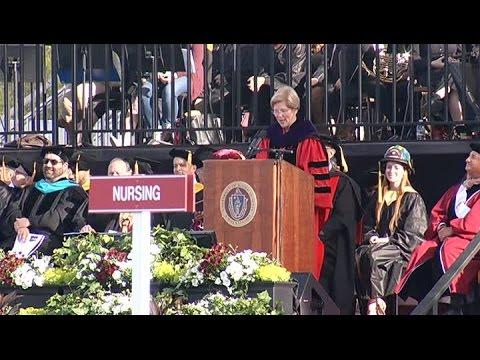 Senator Elizabeth Warren Commencement Speech at UMass Amherst
