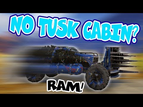 RAMMING WITHOUT A TUSK CABIN - Crossout Gameplay