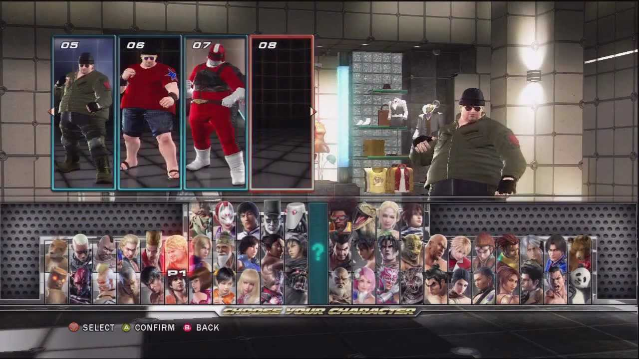 Tekken Tag 2 Best Customization