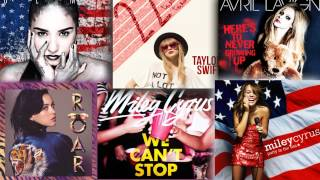 Demi Lovato // Miley Cyrus // Katy Perry // Taylor Swift // Avril Lavigne - Mashup