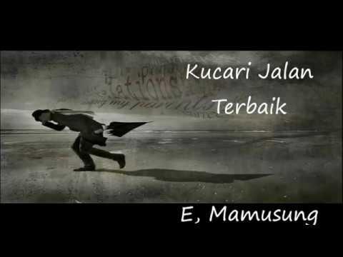 Kucari Jalan Terbaik – Pance F.P ( Keyboard Cover by E Mamusung )
