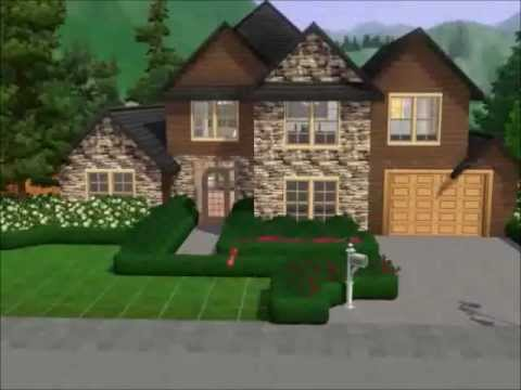 the sims 3: building a suburban home - youtube