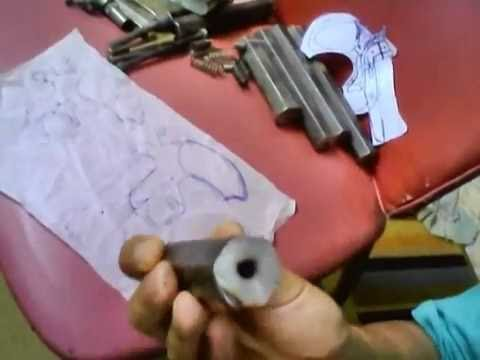 Homemade Pocket 22 Cl 38 45 Colt And 410 Shot Gun