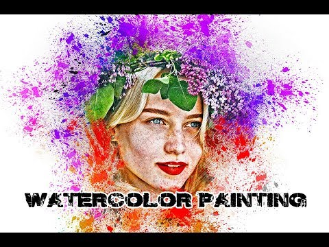 Watercolor Painting Photoshop Action Tutorial thumbnail