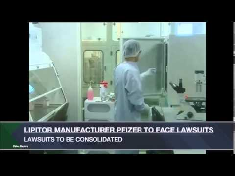 Pfizer Faces Lawsuit over Lipitor Drug
