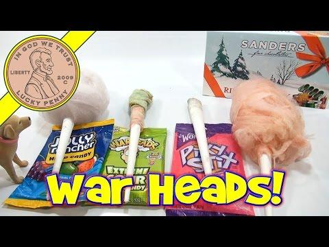 Cotton Candy Flavor Series: War Heads, Jolly Rancher, Ribbon Candy & Pixy Stixs!