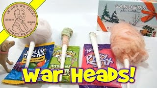 Cotton Candy Flavor Series: War Heads, Jolly Rancher, Ribbon Candy & Pixy Stixs!