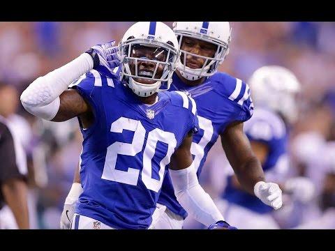 "Darius Butler ""Ball Hawk"" 2016 Colts Hightlights"