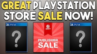GREAT Playstation Store Sale Now! NEW PS4 OPEN WORLD RPG Announced!