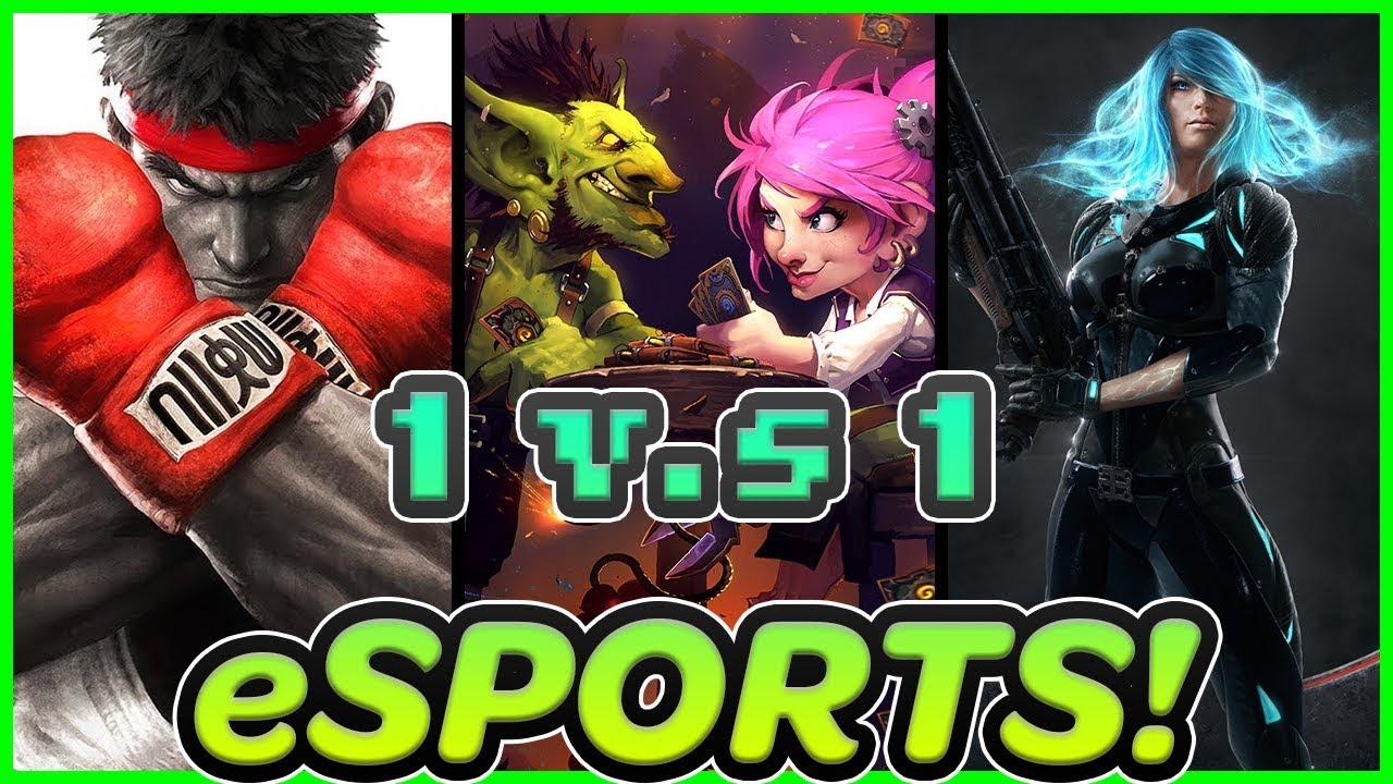 Top Ten 1v1 Games Esports Youtube
