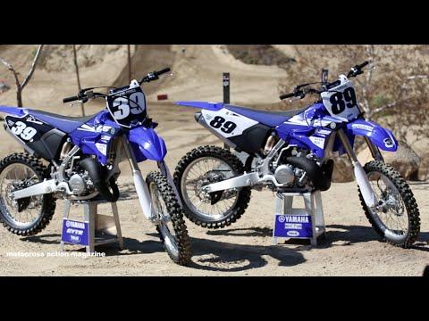 First Ride 2015 Yamaha YZ125 & YZ250 2 Strokes Motocross Action Magazine