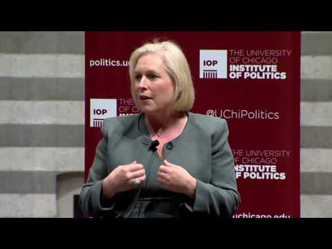 Senator Kirsten Gillibrand (D-NY) in conversation with David Axelrod