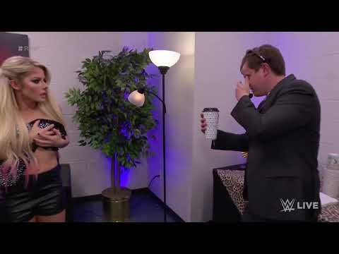 Today Raw Alexa Bliss Is Rudely Interrupted In Her Dressing Room 15/2019