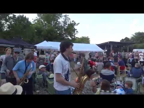 "Live Music : Rock 'n' Roll : Ben Waters Band, ""Route 66"" and Saxophone Conga"
