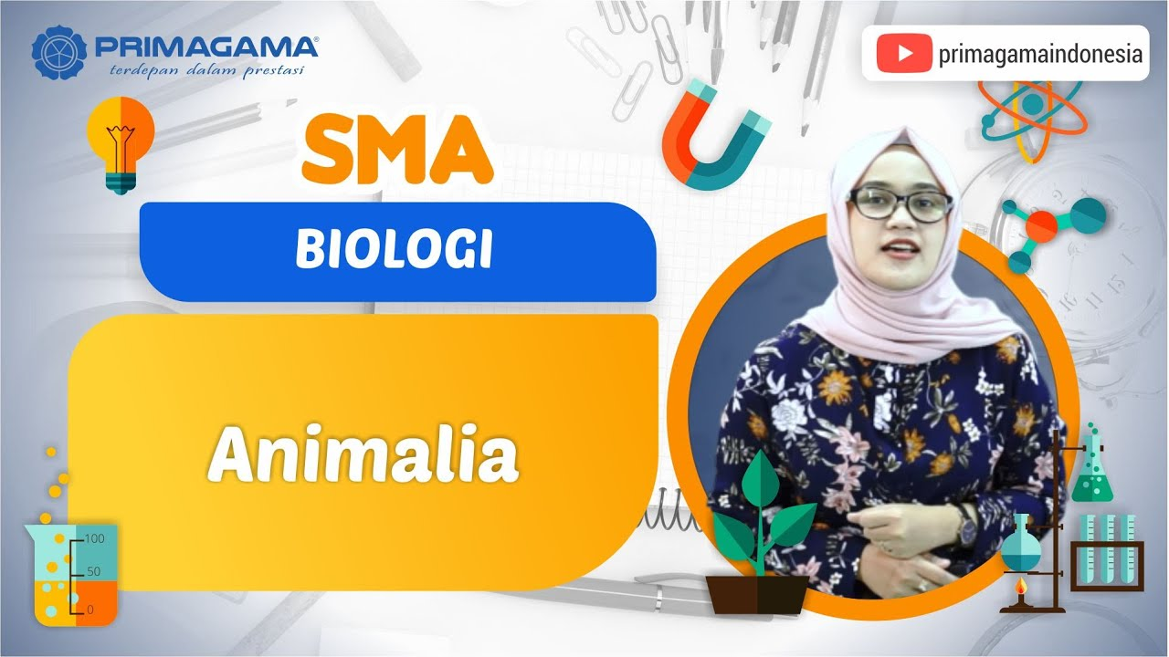 Video Pembelajaran | SMA | Biologi | Animalia