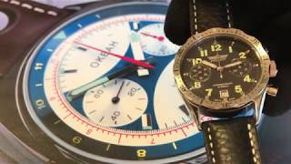 Poljot Chronographs from Russia at www.Poljot24.de