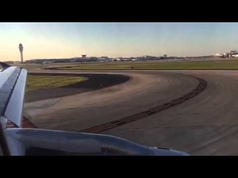 United Airlines A320 Atlanta Airport Landing From SFO