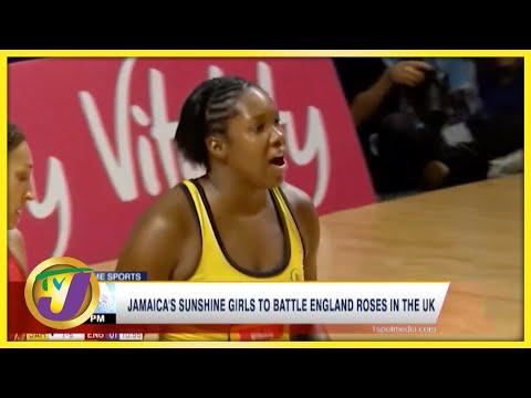 Jamaica's Sunshine Girls to Battle England Roses in the UK - Sept 22 2021