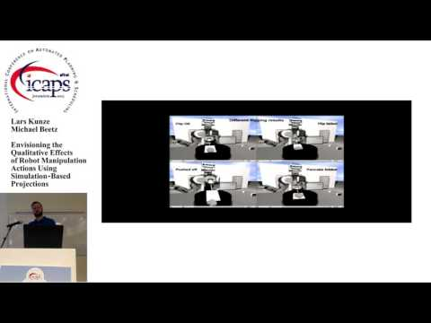 "ICAPS 2015: ""Envisioning the Qualitative Effects of Robot Manipulation Actions Using ..."""