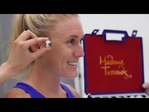 Making of Sally Pearson's Wax Figure at Madame Tussauds