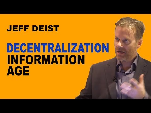 Jeff Deist: The Information Age as the First Great Decentralized Revolution