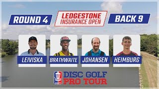 Round Four 2018 Ledgestone Insurance Open - Back 9 | Leiviska, Brathwaite, Johansen, & Heimburg