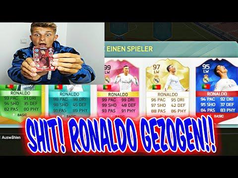RONALDO GEZOGEN!! PANINI FUT DRAFT CHALLENGE! - FIFA 16: ULTIMATE TEAM (DEUTSCH) - FUßBALL