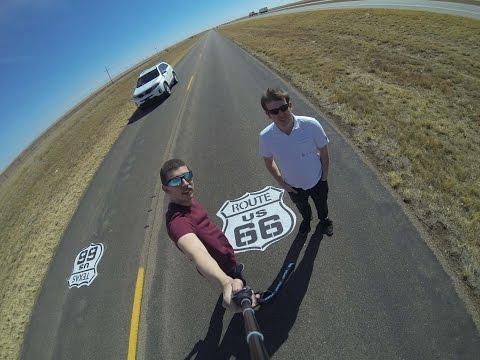 Best Friend's Route 66 Road Trip 2014