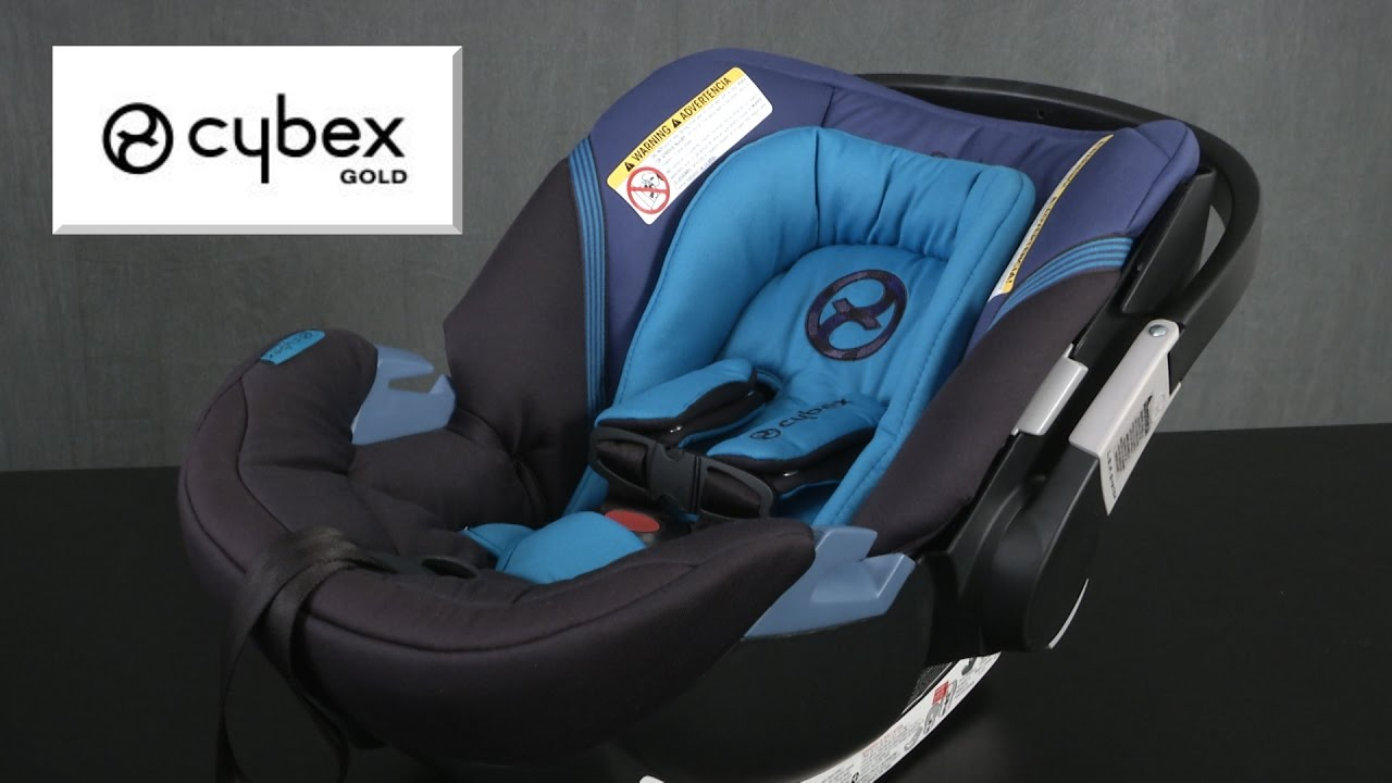 Aton 2 Car Seat from Cybex Gold & Aton 2 Car Seat from Cybex Gold - YouTube